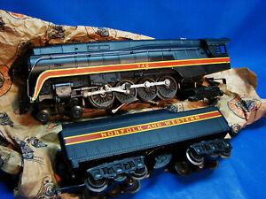1957 Original Postwar Lionel 746 N&W 4-8-4 Locomotive & Tender, Ex+