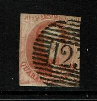 Belgium SC# 8, Used - Lot 090317