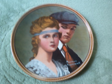 """Norman Rockwell """"rediscovering Women"""" Collectors plates complete set"""