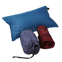 Automatic Inflatable Pillow Outdoor Travel Camping Hiking Air Cushion Portable