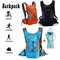 Outdoor Sport Riding Hiking Hydration Backpack MTB Bicycle Rucksack 2L Water Bag