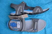 Kathmandu Severn Mens Beach-Hiking Adj. Straps Sandals  SIZE 10 Grey rrp $169.98