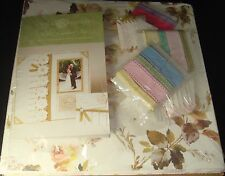 "Anna Griffin Pastel Scrapbook Kit 12"" x 12"" Paper Diecuts Ribbon Etc. 150 pieces"