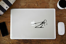 "Stickman Tire Decal autocollant pour Apple MacBook Air / Pro Ordinateur Portable 12 "" 13"" 15 """