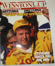 Winston Cup Magazine Speed Weeks Special Sterling Wins April 1994 121014R2