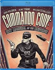 Olive COMMANDO CODY SKY MARSHAL OF THE UNIVERSE Blu-Ray 1950s serial