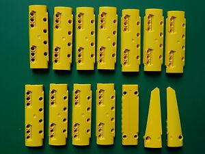 14x New Genuine Yellow Technic panels 11954 15458 64681 64393