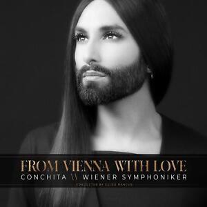 CONCHITA & WIENER SYMPHONIKER WURST - FROM VIENNA WITH LOVE   CD NEW+