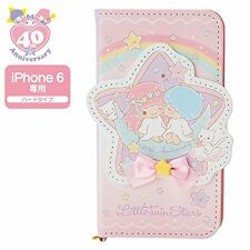 Little Twin Stars 40th notebook type iPhone 6 Case (middle birthday) japan