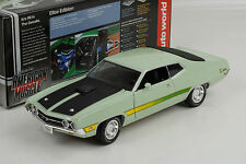 1971 Ford Torino Cobra mint green  American Muscle  1:18 Auto world Ertl