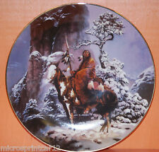 """""""Mystic Warrior"""" 1992 Hamilton Collection Indian Plate"""