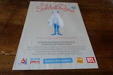 FRANCIS CABREL - Publicité de magazine / Advert !!! LE SOLDAT ROSE 2 !!!