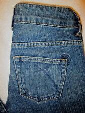 Empyre Raven Skinny Stretch Denim Womens Juniors Dark Denim Jeans Size 1 x 31