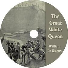 The Great White Queen, William Le Queux Mystery Suspense Audiobook on 1 MP3 CD