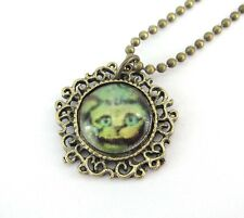 Copper Coated Cat Pendant Chain Necklace Buy One Get One Free, Resin