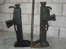 15 Ton Ratchet Jacks, Lifting Jacks, 1 pair of jacks +1 handle ex army