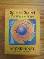 MICKEY HART signed SPIRIT INTO SOUND The Magic of Music SC Book GRATEFUL DEAD