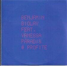 BENJAMIN BIOLAY VANESSA PARADIS PROFITE 1-TRACK  PROMO CD