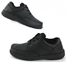 NEW! Orthofeet Jackson Comfort Tie-Less Lace Shoes Black Sz 11 4E Extra Wide