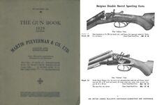 Martin Pulverman 1929 Gun Book-Birmingham, England