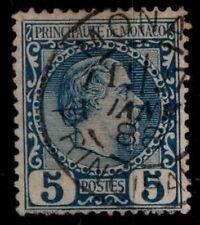 MONACO : Prince CHARLES III n°3, Oblitéré = Cote 35 € / Lot Timbre DOM-TOM