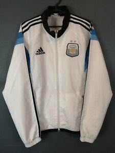 MEN'S ADIDAS ARGENTINA NATIONAL 2013/2014 JACKET TRAINING SOCCER FOOTBALL SIZE M