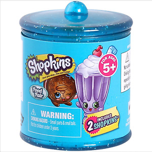 Qty 8 - New Shopkins Season 4 Food Fair 2 Pack Blind Candy Jar Bag Party Favors