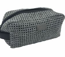 Hugo Boss Men s Grey Beauty Toiletry Bag Travel Overnight Wash Gym Shaving  Bag 4b9bdb0de3d41