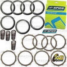 Apico Clutch Kit Steel Friction Plates & Springs For Honda CRF 450R 2010 MotoX
