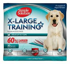 Simple Solution 6-layer Extra Large Training Puppy Pads 28x30 Inches 50 Count
