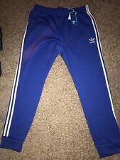 Adidas Originals Superstar Track Joggers Pants Blue White XL Bk5932