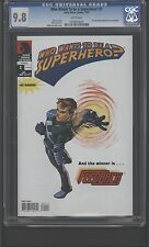Who Wants to be a Superhero? #1 CGC 9.8 W Feedback!