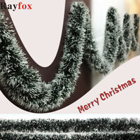 Party Pine Garland Christmas Ribbon String Xmas Tree Hanging Ornament Decor UK