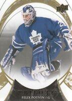 2015-16 Upper Deck Trilogy Hockey #92 Felix Potvin Toronto Maple Leafs