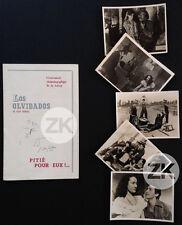 LOS OLVIDADOS Cocteau PITIE POUR EUX Prévert BUNUEL Luis MARQUEZ 5 Photos 1950