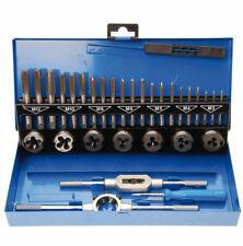 Tarauds et filieres metriques M3 À M12 Coffret BGS (32 Pcs) Acier a outils Gcr15