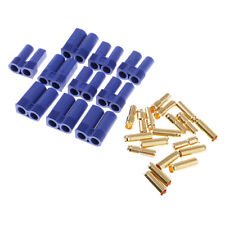 20pcs EC5 5mm Banana Plug Male Female Bullet Connector for RC Lipo ESC Motor