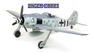 E-Flite Focke-Wulf Fw 190A 1.5m Smart BNF Basic AS3X and SAFE Select EFL01350 HH
