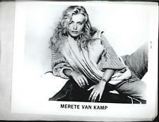 Merete Van Kamp -  8x10 Headshot Photo with Resume - Dallas