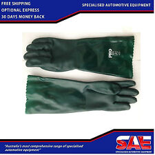 CHEMICAL GLOVES IN PVC 45CM LONG - PROTECTION GLOVES - AS362360