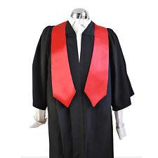Graduation D'honneur Stole Université Bachelor Academic Rouge Écarlate Chœur