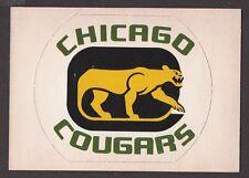 1972-73  OPC O PEE CHEE  TEAM LOGOS  CHICAGO COUGARS  SP  NRMT+   INV A2155