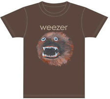 Weezer-Head-X-Large Brown T-shirt
