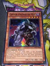 OCCASION Carte Yu Gi Oh CASTOR COLONIE DU MAL HA07-FR048