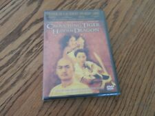 """New listing """"Crouching Tiger and Hidden Dragon� Chow Yun Fat, Michelle Yeoh; Action/Dvd/New"""