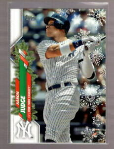 2020 Topps Walmart Holiday Base & Rookie RC #1-200 - You Pick -Complete Your Set