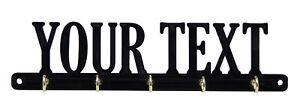 Custom Made Personalized Key Rack Hanger Holder Hooks Entryway Organizer Gift