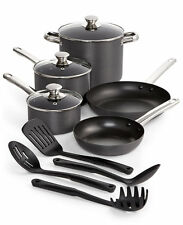 Tools of the Trade Stainless Steel trimmed Hard-Anodized 12-Piece Nonstick Cookw
