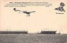 Seltene Foto-AK ca 1910@Monoplane Morane Blériot XI Typ Traversée de la Manche