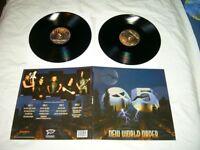 Q5 --- original 2016 New World Order Double LP!!!   metal, hardrock